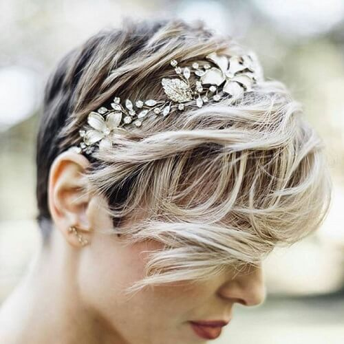 Silver Accessory Wedding Style