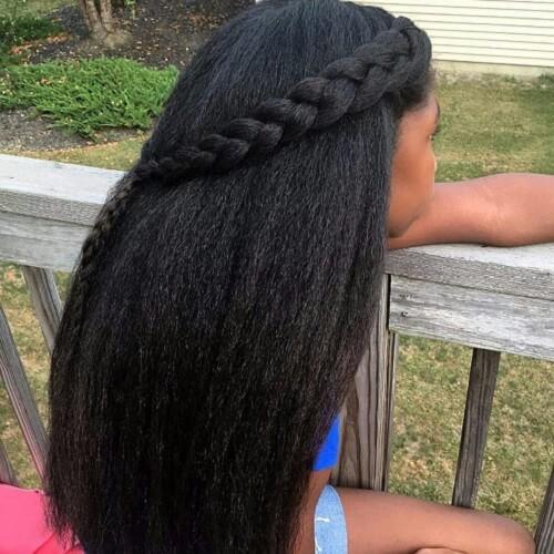 Straightened and Braided
