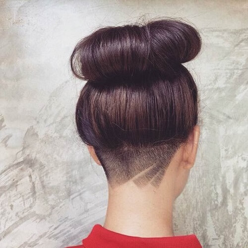 Subtle Female Undercut