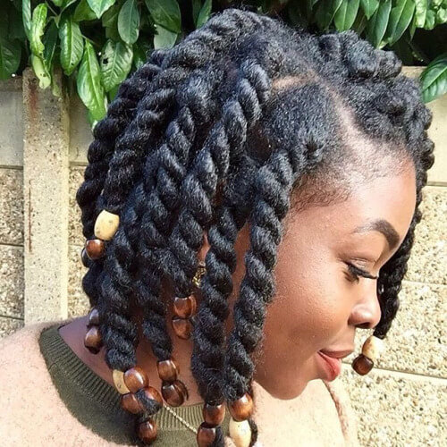 Twists and Wooden Beads