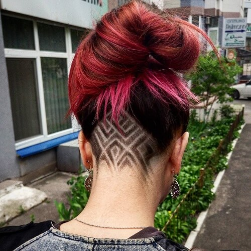 Chic Edgy Undercut Design Ideas Hair Motive