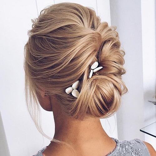 Wedding Hairstyle for Blonde Hair