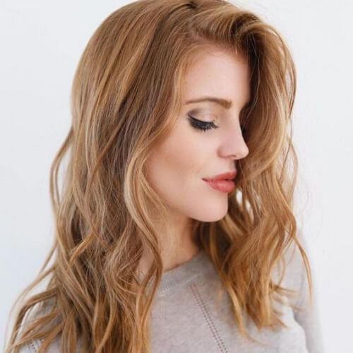 auburn blonde