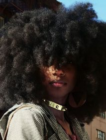 big natural afro