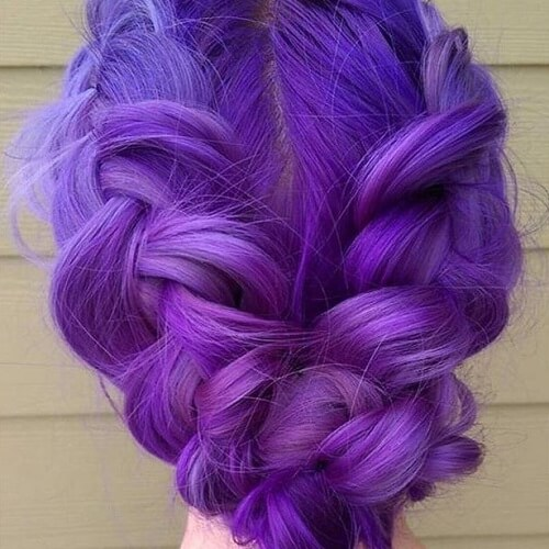 50 Fabulous Purple Hair Suggestions Hair Motive Hair Motive