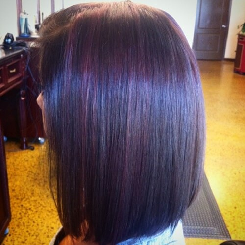 50 fabulous purple hair suggestions hair motive hair motive dark brown hair with purple highlights pmusecretfo Image collections