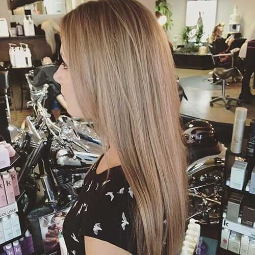 light brown blonde
