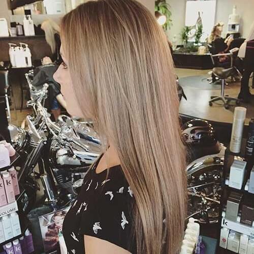 light brown blonde