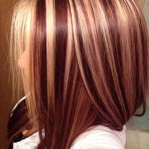 The gallery for --> Dark Red Underneath Brown Hair