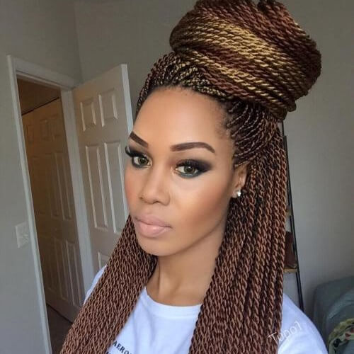 senegalese twist braids