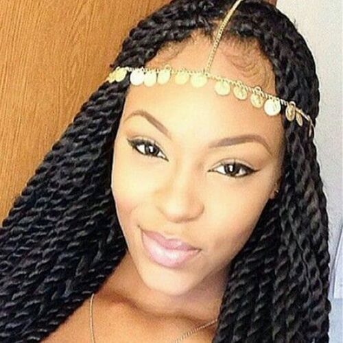 50 Sensational Styling Ideas For Senegalese Twists Hair