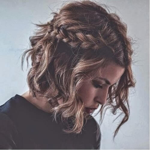 Casual Side Braids