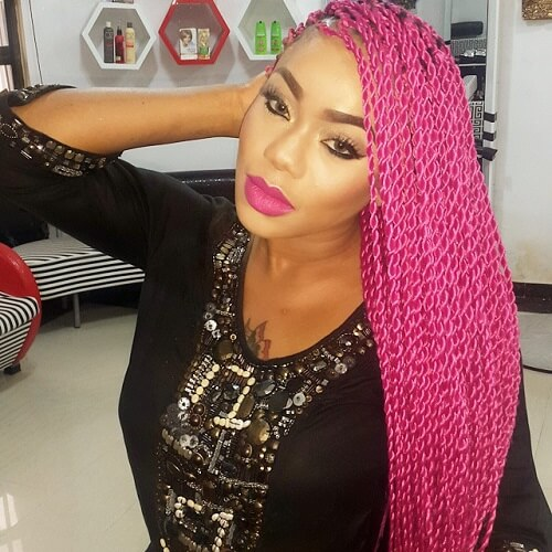 Hot Pink Twists