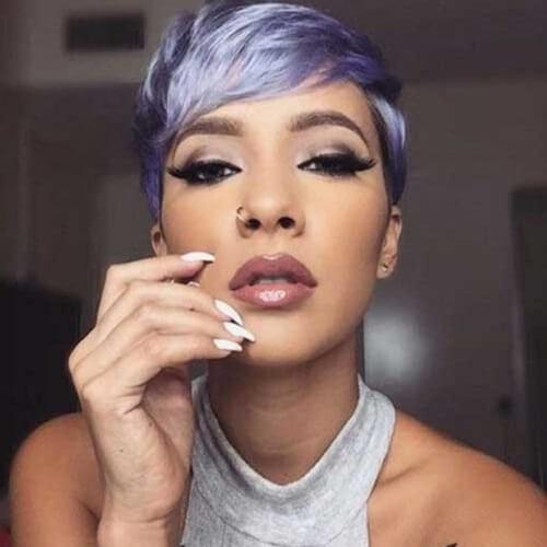 Lavender Pixie Cuts
