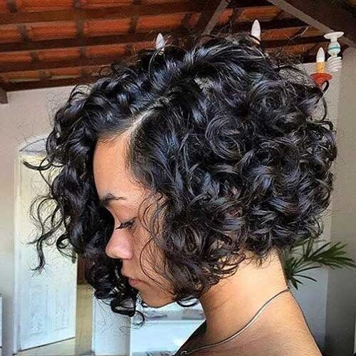 Long Bobs with Big Curls
