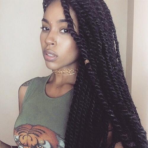 50 Sensational Senegalese Twist Styling Ideas | Hair Motive Hair ...