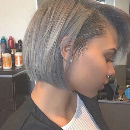 Short Straight Hairstyles for Black Women