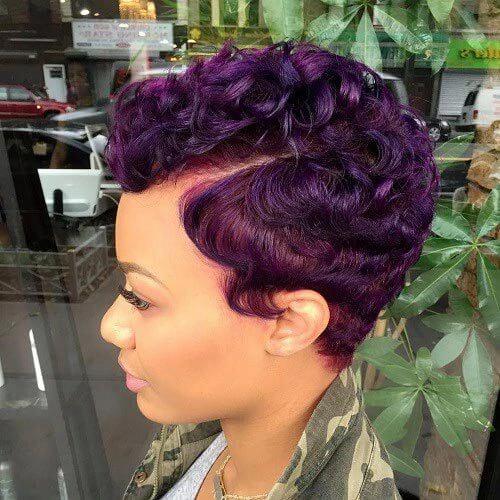 Short Wavy Hairstyles for Black Women