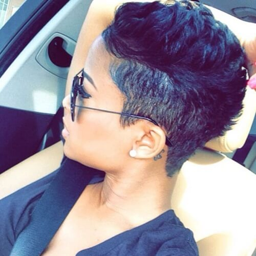 Undercut Hairstyles for African American Women