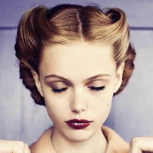 Vintage Hairstyles Medium Length