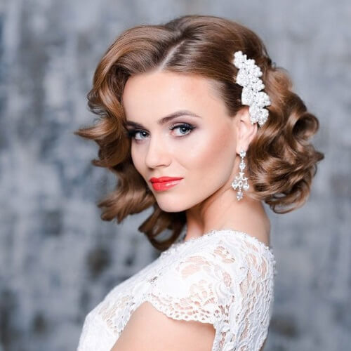 16 Gorgeous Medium Length Wedding Hairstyles: 50 Medium-Length Hairstyles We Can't Wait To Try Out