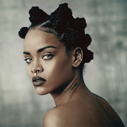 rihanna inspiration hair