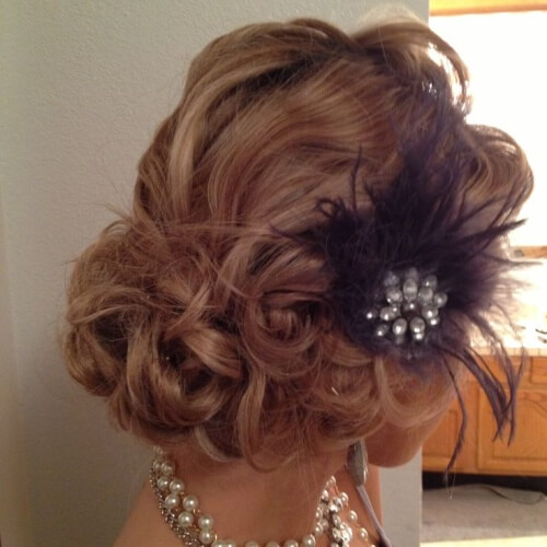 1920s Updos for Long Hair