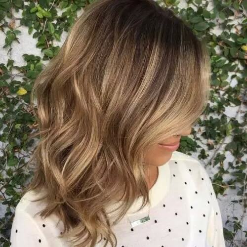 Blended Blonde Highlights