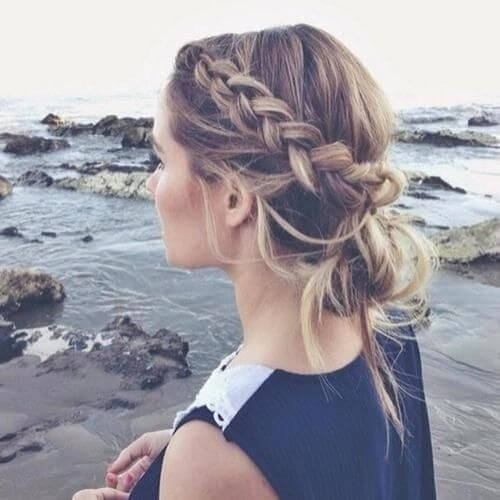 Boho Updos for Long Hair
