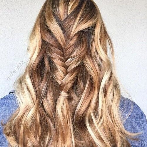 55 Charming Brown Hair with Blonde Highlights Suggestions | Hair ...