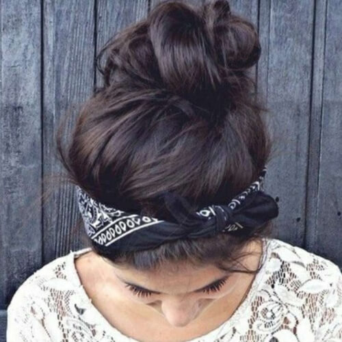 Buns with Bandanas