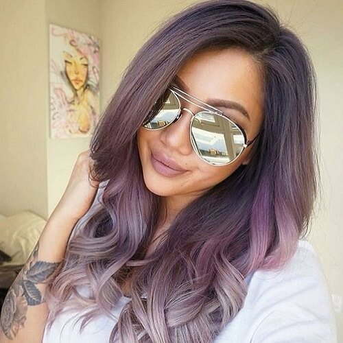 Dusty Purple Ombre