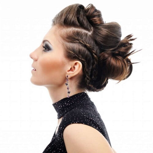 Elaborated Hairstyle