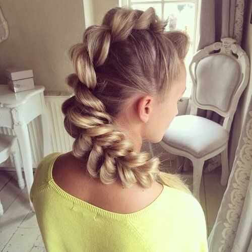 Faux Hawk for Girls