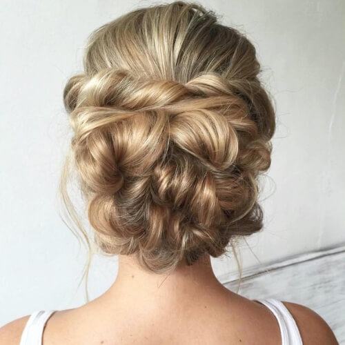 Flower Shaped Updos