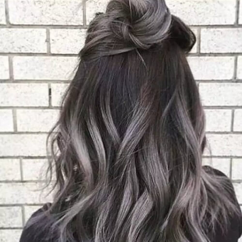 50 lavish gray hair ideas youll love hair motive hair motive gray highlights in dark brown hair pmusecretfo Choice Image