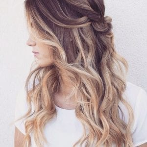 Brown Hair with Blonde Highlights: 55 Charming Ideas