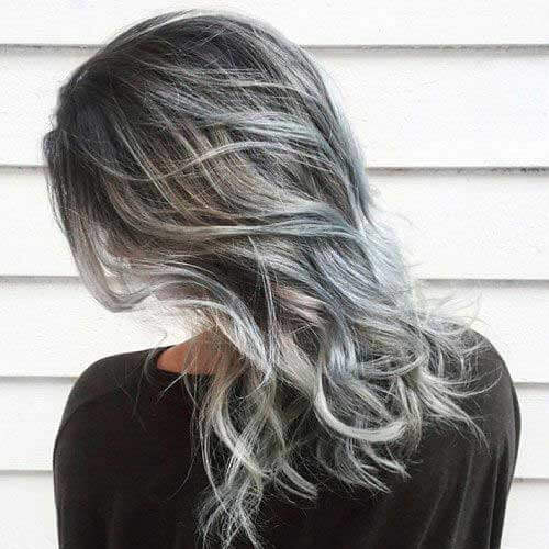 Highlights for Gray Hair