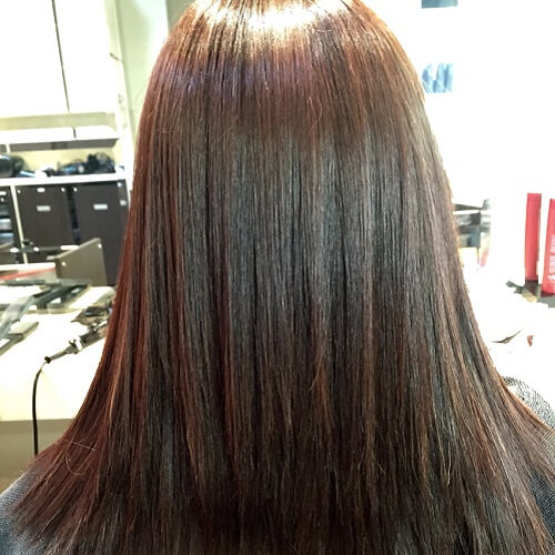 Japanese Straight Perm