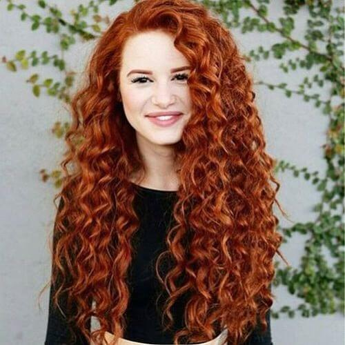 50 marvelous perm ideas for curly wavy or straight hair hair 21 natural ginger urmus