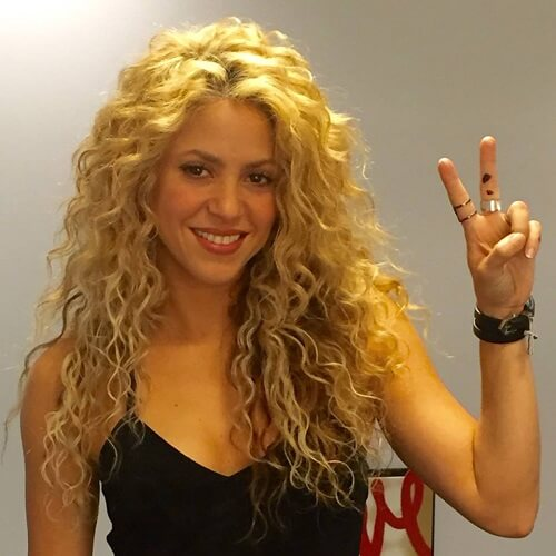 Perms for Long Hair Shakira