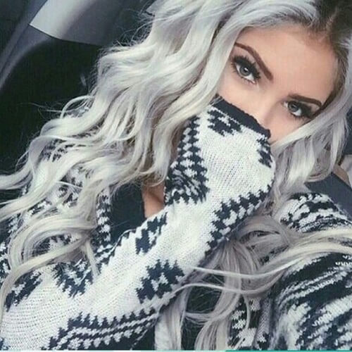 Platinum Gray Hair