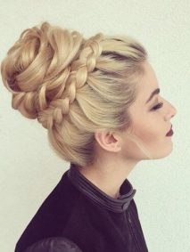 Romantic Updos for Long Hair