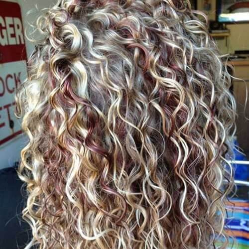 Sensational Curly Perm