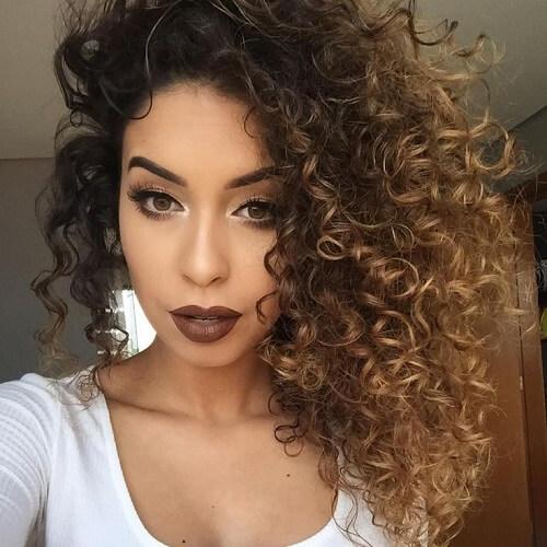 Side Swept Curls