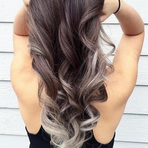 Silver Blonde Lowlights