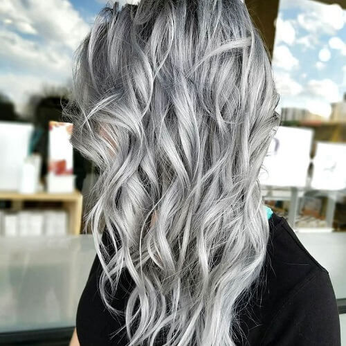 52 lavish gray hair ideas you ll love hair motive hair motive. Black Bedroom Furniture Sets. Home Design Ideas