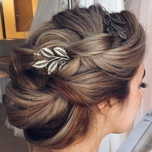 Wedding Bridesmaid Hairstyles For Long Hair: 50 Graceful Updos For Long Hair You'll Just Love!