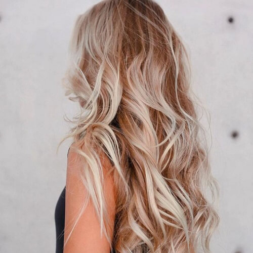 beach hair and undertones