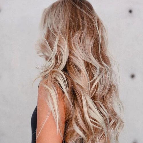beach hair and undertones
